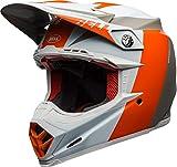 Bell Moto-9 Flex Carbon Crosshelm Division Orange/White-XS
