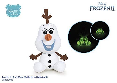 Famosa Softies - Peluche infantil Frozen 2 Olaf, 25 cm,