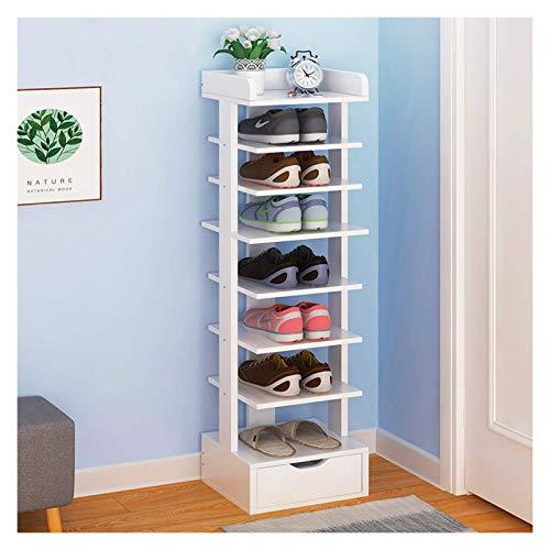 El almacenamiento en zapatero es simple y práctico Entrada de zapatos Entrada independiente Zapatillas de zapatos Saber de espacio para zapatos Multi-capa de ahorro de espacio, diseño multifuncional d