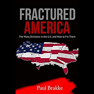 Fractured America audiobook cover art