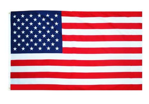 MM 16211 –Bandera de EE.UU, 150x 90cm, Resistente a la Intemperie, Multicolor