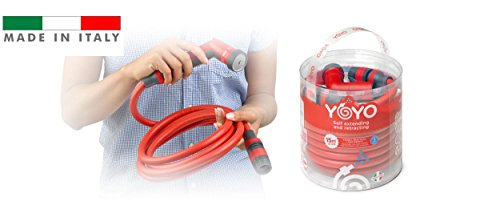Yoyo – tuyau extensible 20 mt – Extensible irrigation – Made in Italy – by Fitt