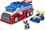 PAW PATROL-Ready, Race, Rescue Mobile Pit Stop Team Vehicle with Sounds, for Kids Aged 3 Years and O...