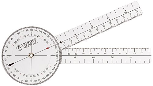 Prestige Medical Protractor Goniometer, 8 Inch, 0.70 Ounce