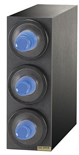 San Jamar - C2903GR - Countertop-Mount Cup Dispenser, Holds 8 to 46 oz. Cups