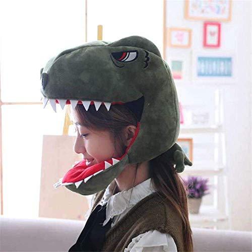 Detazhi Animal Dinosaurio Cosplay Disfraces Accesorios Hats Dino Peluche Juguete Adulto nios Creativo Elegante Sombrero Gorra