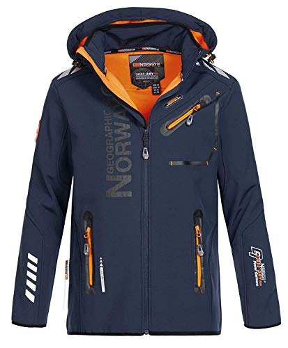 Geographical Norway JACKEN Softshell Herren ROYAUTE Navy BLAU L