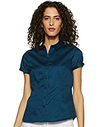 Annabelle By Pantaloons Womens Plain Regular fit Shirt
