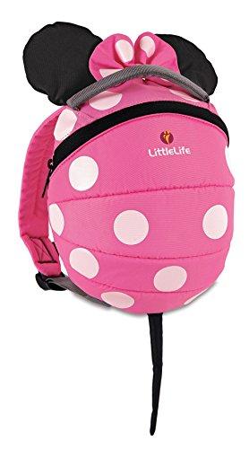 LittleLife Disney Kleinkind Rucksack - Pink Minnie