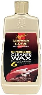 Meguiar's M0616 Mirror Glaze Cleaner Wax, 16 oz