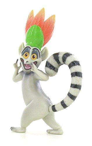 Madagaskar99932 Figur King Julien, 6 x 10 x 6 cm