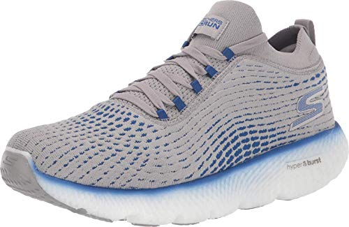 Skechers Max Road 4 Gray/Blue 10