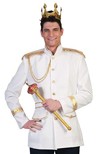 Prinz Charming Kostüm für Herren Gr. 48 50