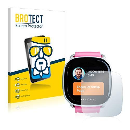 BROTECT Panzerglas Schutzfolie kompatibel mit Xplora Go Kids - AirGlass, extrem Kratzfest, Anti-Fingerprint, Ultra-transparent