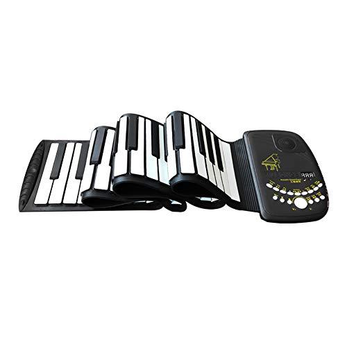 NUYI Handgerolltes Klavier 88-Tasten-Tastatur gefaltet Insert Card Chord Piano