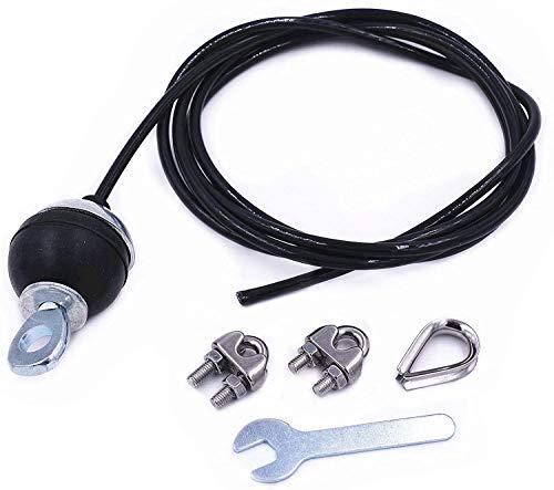 Sweetone 3M Accesorios de polea de Fitness,Fitness DIY Polea Cable Máquina Sistema de fijación Brazo Bíceps Tríceps Blaster Entrenamiento de Fuerza de Mano Equipo de Entrenamiento de Gimnasio en casa