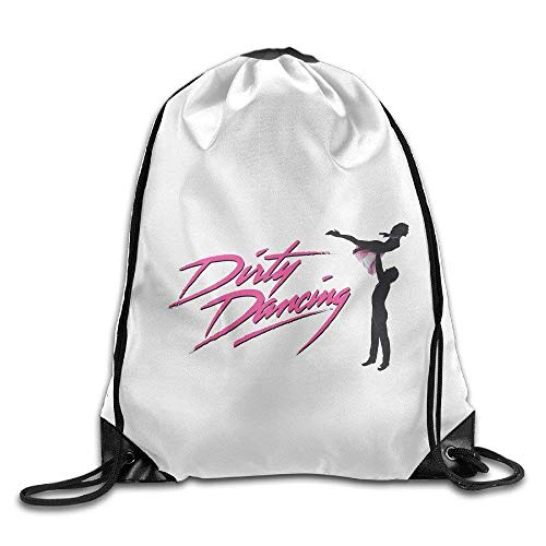 CHSUNHEY Turnbeutel,Sporttaschen,Dirty Dancing Classic Film Poster Eco-Friendly Luggage Drawstring Backpack Bag