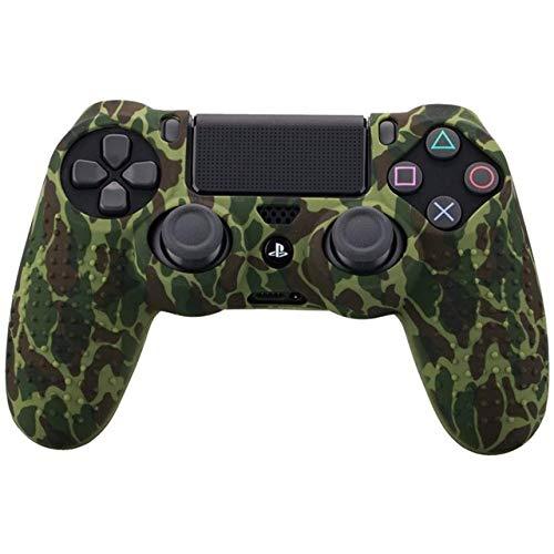 Eleganantstunning Schutzhülle für Sony PS4 Slim/Pro Controller Dualshock4 (Silikon, Gummi, Gel, mit Graffiti-Nieten)