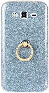 SIZOO - Fitted Cases - Luxury Silicon Holder Case For for Samsung Galaxy Grand 2 Transparent Soft Glitter Colorful Finger ...