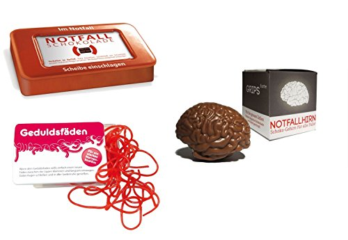 yagma Lern+Konzentration Notfallpaket (Notfallhirn, Notfallschokolade, Geduldsfäden)