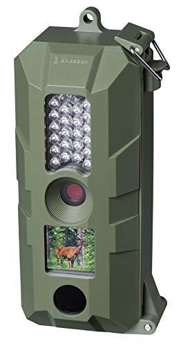 Bresser Wildkamera 5MP mit hochsensiblem Infrarot-Bewegungssensors für Wildbeobachtung und Überwachung inklusive Micro-SD-Kartenslot, USB-Anschluss, 4 AA Batterien und 16GB Micro SD Karte
