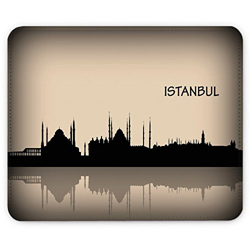 Virano Collection 27, Custom Macbook Sticker Cover Skin Decal Mouwen verschillende maten, Leather Mouse Mat, Voyage Istanbul