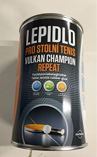 VULKAN Tischtennis Frischkleber Champion Repeat, 1000 ml