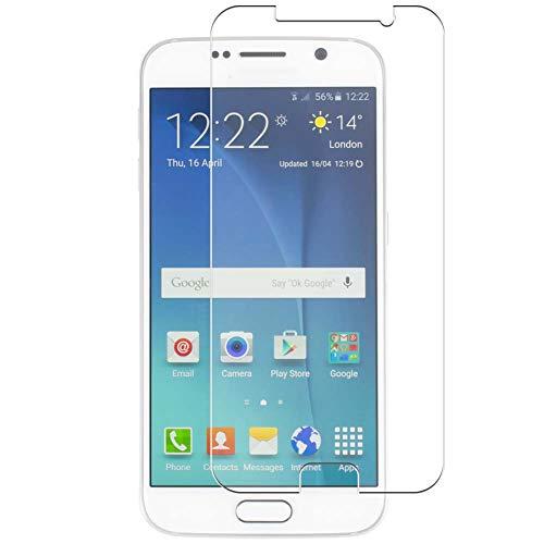 Vaxson 4 Unidades Protector de Pantalla, compatible con Samsung Galaxy S6 SC-05G / G9200 G920 G9208 G9209 G920A [No Vidrio Templado] TPU Película Protectora