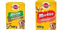 Pedigree Treats Bundle Pack Pedigree Markies 500g Pedigree Biscrock Gravy Bones 400g Foods - Dog - Treats Pre-Pack