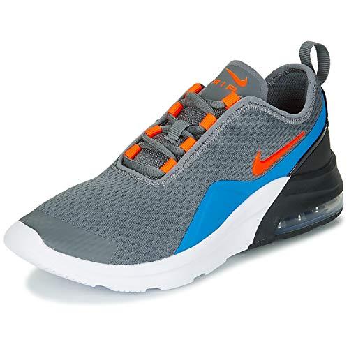 Nike Air MAX Motion 2 GS Zapatillas Moda Nino Gris/Azul - 37 1/2 - Zapatillas Bajas Shoes