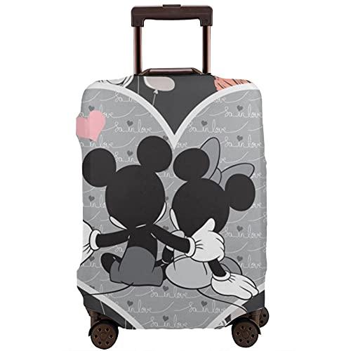 Mickey Mouse Minnie Maleta Protector Funda Lavable Diseño 3D Impresión 4 Tamaños para la mayoría de Equipaje Bolsa Protectora Cremallera