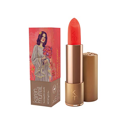 Karen Murrell Natural Lipsticks, Coral Dawn