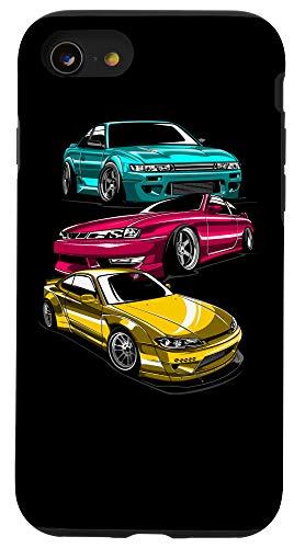 iPhone SE (2020) / 7 / 8 JDM Legend Retro Gaming Racecar Tuning Car Case