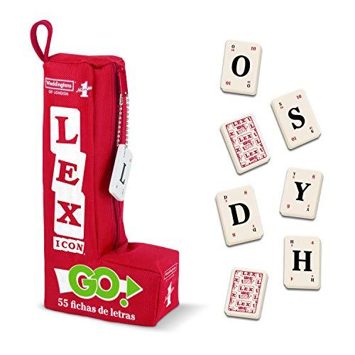 Winning Moves- Lex Go Juego de letras- versión española, Multicolor (5036905034722)