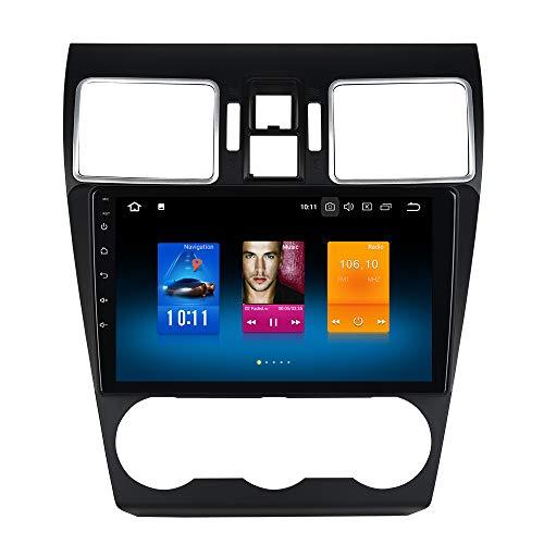Dasaita 9' 1 DIN Android 10.0 Car GPS Player Navigation for Subaru WRX 2016 2017 2018 Head Unit with...
