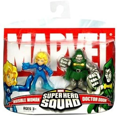 Marvel Super Hero Squad Invisible femme vs. Dr. Doom