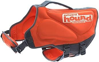 Outward Hound Neoprene Extra Small Dog Life Jacket Life Preserver for Dogs, X-Small, Orange