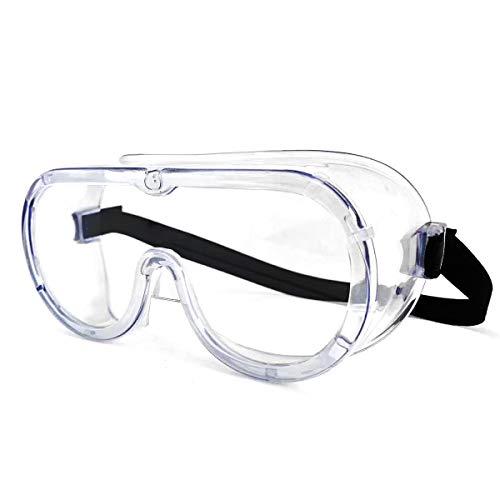 Gafas de seguridad transparentes envolventes de seguridad selladas con impacto ocular, gafas de trabajo selladas sobre gafas para bricolaje, laboratorio etc.(Vendedor laixiulife Amazon delivery) 🔥