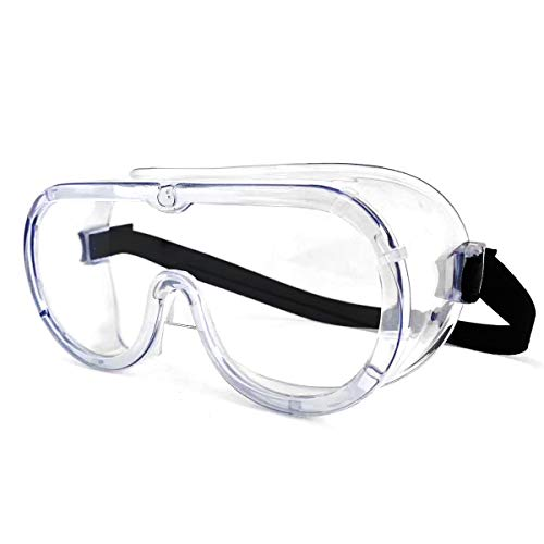 Safety Goggles Clear Wraparound ...