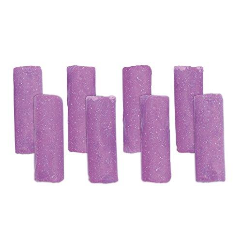 Abfluss-Fee Lavendel-Duftstein 8er-Set in Lila | Reiningungsstein für Abflüsse Aller Art | Rohrreiniger, Abflussreiniger, Rohrfrei [Lavendel-Duft, langzeit]