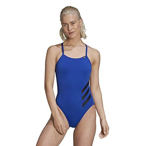 adidas Pro Big STR S Traje de baño, Mujer, azurea/Negro, 40