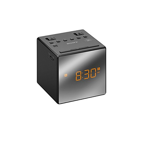 Sony ICF-C1TB - Radio Reloj, 2 alarmas, color negro: SONY: Amazon ...