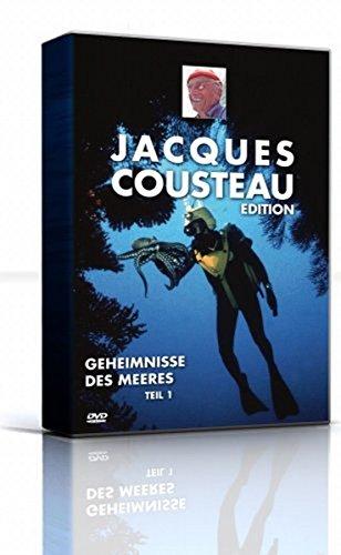Jacques-Yves Cousteau - Die Geheimnisse des Meeres - Vol. 1 (4 DVDs)
