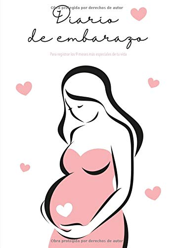 Diario de Embarazo: Agenda embarazo - Para registrar los 9 meses más especiales de tu vida