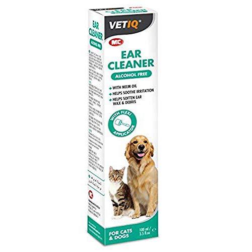 VetIQ Oorreiniger voor Katten & Honden x Maat: 100 Ml