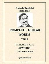 Antonio Dominici - Complete Guitar Works vol. 1: 30 Compositions for guitar solo