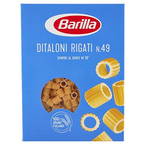 Barilla Pasta Ditaloni Rigati, Pastina di Semola di Grano Duro, I Classici, 500 g