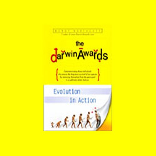The Darwin Awards audiobook cover art