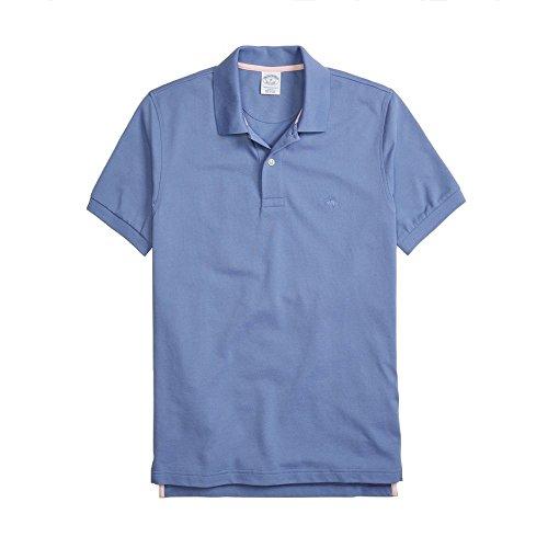 Brooks Brothers Red Fleece Sport Shirt (49402), Bleu (Blue 100049402), 48(Small) Homme