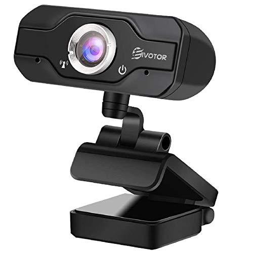 HD Webcam, EIVOTOR PC Webcam 720P USB Mini...
